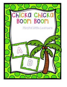 Chicka Chicka Boom Boom ABC Game