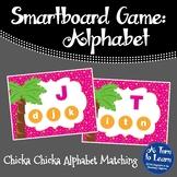 Chicka Chicka Boom Boom ABC Recognition Game (Smartboard/Promethean Board)