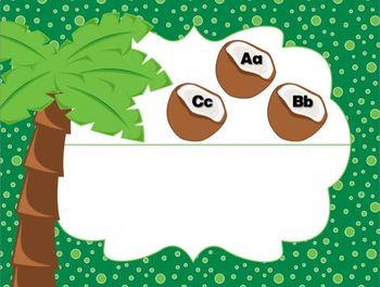 Chicka Chicka Boom Boom ABC Sequencing Game for Smartboard or Promethean Board!