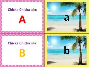 Chicka Chicka Boom Boom ABC Themed Matching Game RF.K.1d