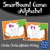 Chicka Chicka Boom Boom ABC Writing Game (Smartboard/Promethean Board)
