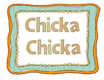 Chicka Chicka Boom Boom Activities FREEBIE