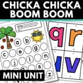 Chicka Chicka Boom Boom Activities for Preschool and Kindergarten