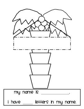Chicka Chicka Boom Boom Display & Activities/Teachers Aid/Homeschool Pack