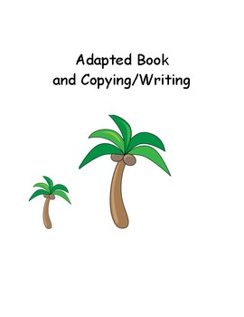 Chicka Chicka Boom Boom Adapted Book (Descriptors-Counting)