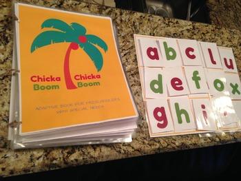 Chicka Chicka Boom Boom Adaptive Book