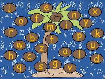 Chicka Chicka Boom Boom Alphabet Activities