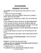 Chicka Chicka Boom Boom Alphabet Activity Mats with Activities
