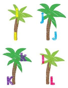 Chicka Chicka Boom Boom Alphabet Flash Cards