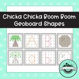 Chicka Chicka Boom Boom & Alphabet Geoboard Task Cards