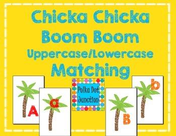Chicka Chicka Boom Boom Alphabet Matching Cards