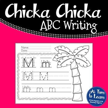 Chicka Chicka Boom Boom Alphabet/Handwriting Book