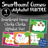 Chicka Chicka Boom Boom BUNDLE of 4 Smartboard or Promethe