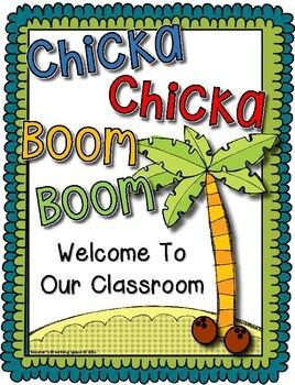 Chicka Chicka Boom Boom --- Back To School Class Book