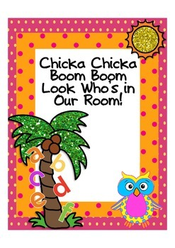 Chicka Chicka Back to School Packet with Owls