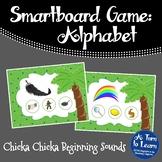 Chicka Chicka Boom Boom Beginning Sounds Game (Smartboard/Promethean Board)