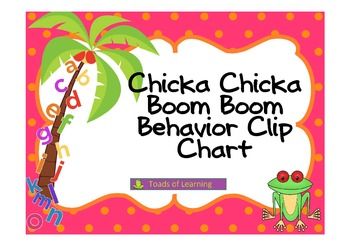 Chicka Chicka Behavior Clip Chart