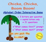Chicka, Chicka, Boom, Boom (Bill Martin) Interactive Alphabet Order Game