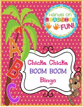 Chicka Boom Bingo Classroom Set & Calling Cards Beginning Sounds