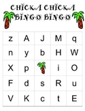 Chicka Chicka Boom Boom Bingo Set (20 cards with call letters)