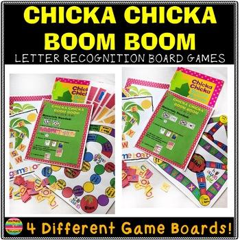 Chicka Chicka Boom Boom Game and Activity