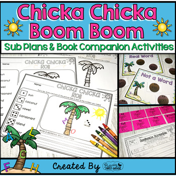 Chicka Chicka Boom Boom ~ Book Activities for the Common C