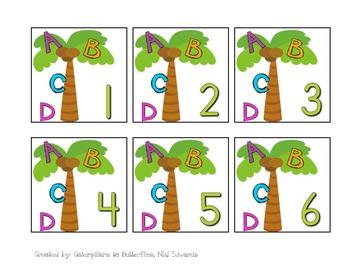 Chicka Chicka Boom Boom Calendar- August & September Pieces--- NOT A PATTERN