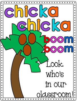 picture about Chicka Chicka Boom Boom Printable Book titled Chicka Chicka Growth Increase Cl Textbooks Worksheets Coaching