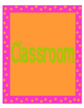 Chicka Chicka Boom Boom Classroom Banner
