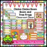EDITABLE Chicka Chicka Boom Boom Classroom Decor (and Tree