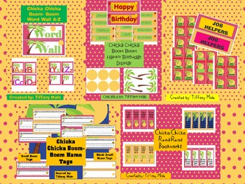 Chicka Chicka Boom Boom Classroom Pack