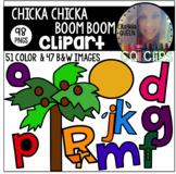Chicka Chicka Boom Boom Clipart