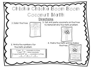 Chicka Chicka Boom Boom Coconut Math