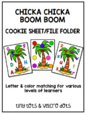 Chicka Chicka Boom Boom Color & Letter Match