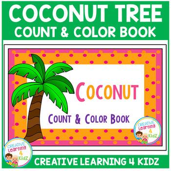 Coconut Count & Color Interactive Book