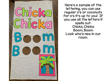 Chicka Chicka Boom Boom Craftivity