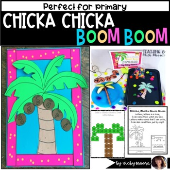 Chicka Chicka Boom Boom Craftivity and Pack
