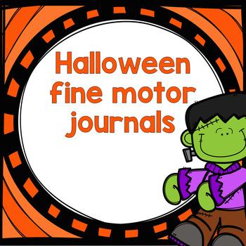 Halloween Fine Motor Journals for Preschool by The Joys of ...