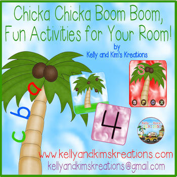 Chicka Chicka Boom Boom, Fun Activities for Your Room!