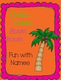 Chicka Chicka Boom Boom Fun with Names
