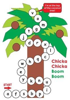 Chicka Chicka Boom Boom Game Board