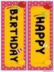Chicka Chicka Boom Boom Happy Birthday Display