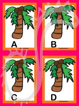Chicka Chicka Boom Boom Inspired Initial Sounds Cards