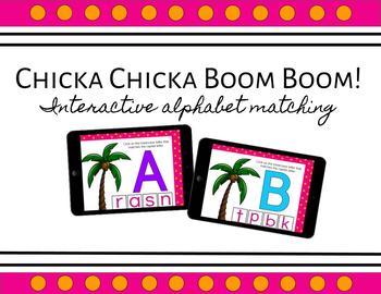 Chicka Chicka Boom Boom - Interactive Alphabet Matching