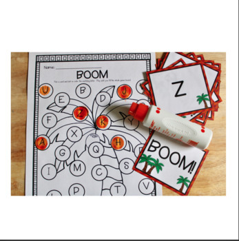 Chicka Chicka Boom Boom Letter Recognition Game