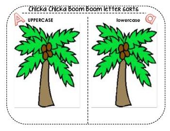 Chicka Chicka Boom Boom Letter Sort
