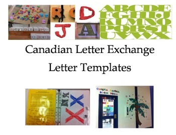 Letter Exchange Template