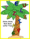 Chicka Chicka Boom Boom Letter Trees