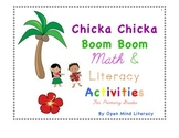 Chicka Chicka Boom Boom:  {Letter & Number Writing Practice!}