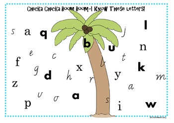 Chicka Chicka Boom Boom Literacy Pack